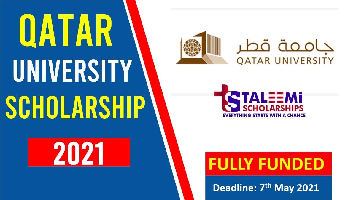 University of Qatar Scholarships 2021-Taleemi Scholarships
