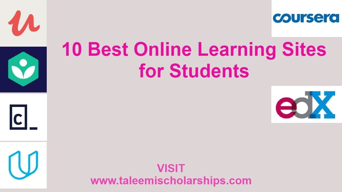 10 best online learning sites for students