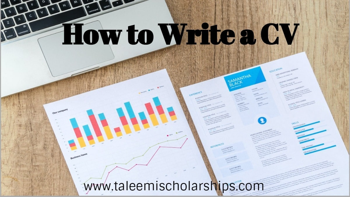 How to write a CV