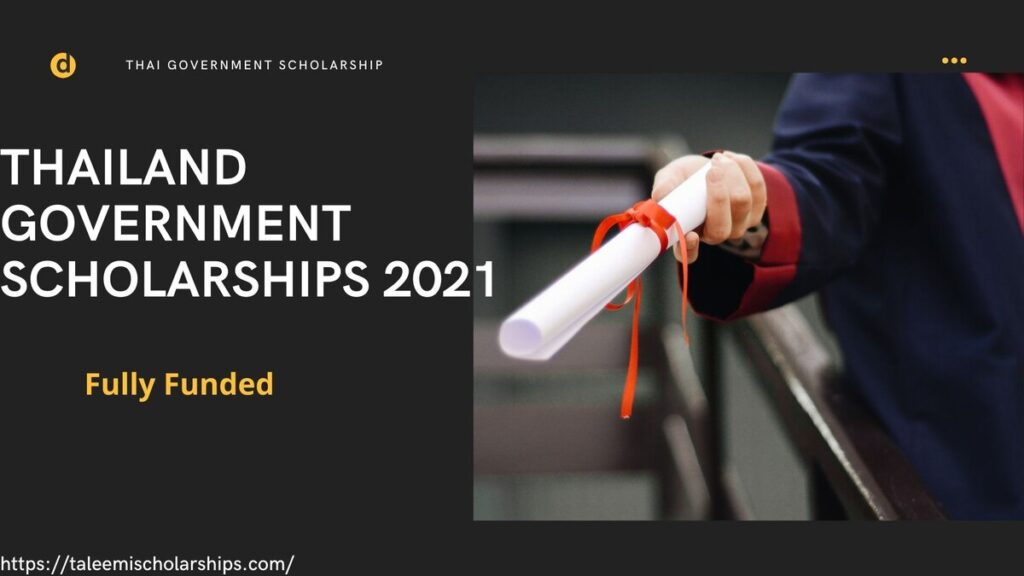 Thailand-Government-Scholarships-2021