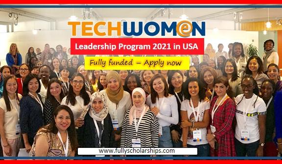 Tech Women Leadership Exchange Program 2022 in the USA