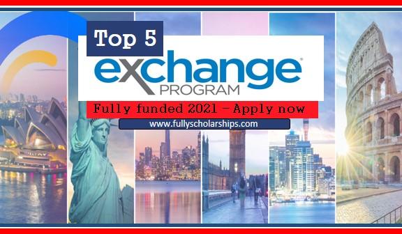 top 5 international exchange programs 2021