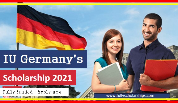 IU Germany's Scholarship 2021 fully funded