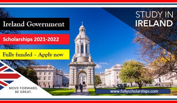 Ireland Government Scholarship 2022